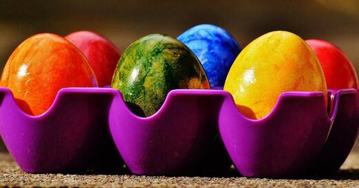 Ostern, Ostereier, Färben, bunt, © Pixabay (Symbolbild)