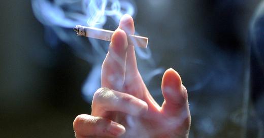 Rauchen, Zigarette, Tabak, © Jens Kalaene - dpa (Symbolbild)