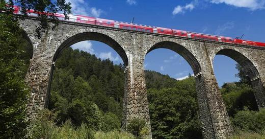 Höllentalbahn, Ravennaschlucht, Aquädukt, Brücke, © Pixabay (Symbolbild)