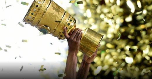 DFB-Pokal, Trophäe, Fußball, © Maurizio Gambarini - dpa