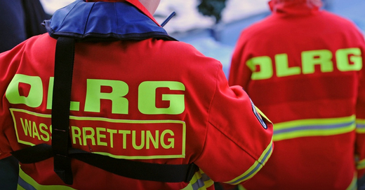 DLRG, Rettungsschwimmer, © Patrick Seeger - dpa (Symbolbild)