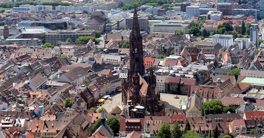 Freiburg, Altstadt, Innenstadt, Münster, © Pixabay (Symbolbild)