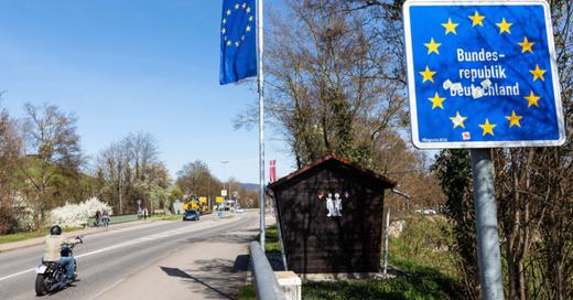 Grenzübergang, Breisach, Grenze, Frankreich, Elsass, © Philipp von Ditfurth - dpa (Symbolbild)