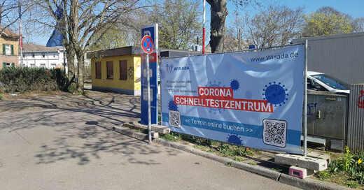Schnelltestzentrum, Drive-In, Festplatz, Emmendingen, Corona, © baden.fm