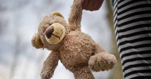 Plüschtier, Stofftier, Teddybär, Kinder, © Pixabay (Symbolbild)