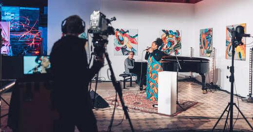 Cecile Verny, Streaming, Festival, Benefizival, Benefiz, © Raphael Pietsch / Sparkasse Freiburg-Nördlicher Breisgau