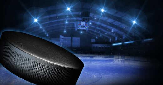Eishockey, DEL2, Eisstadion, Eishalle, Puck, © Pixabay (Symbolbild)