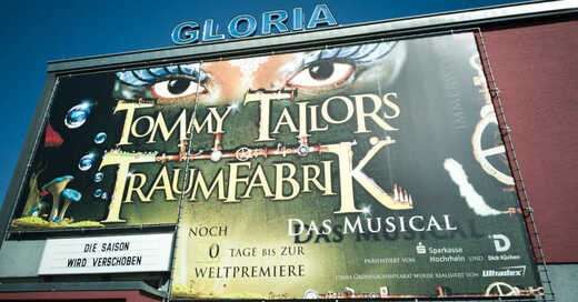 Gloria Theater, Bad Säckingen, Musical, Tommy Tailors Traumfabrik, © Gloria-Theater GmbH