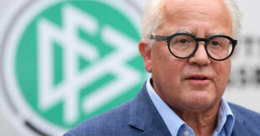 Fritz Keller, Präsident, DFB, Deutscher Fußball-Bund, Fußball, Bundesliga, © Arne Dedert - dpa (Archivbild)