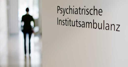 Psychiatrie, Psychologe, Ambulanz, Psychische Erkrankung, © Julian Stratenschulte - dpa