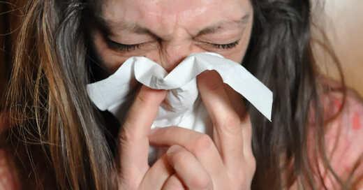 Heuschnupfen, Erkältung, Niesen, Grippe, © Pixabay (Symbolbild)