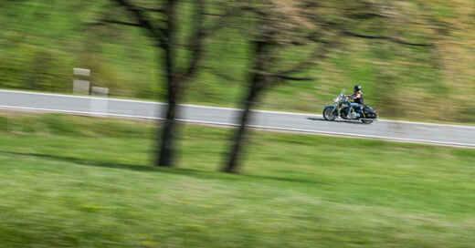 Motorradfahrer, Biker, Schwarzwald, Motorradsaison, Verkehr, © Frank Rumpenhorst - dpa (Symbolbild)