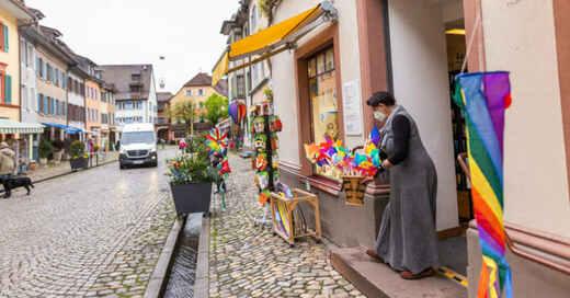 Einzelhandel, Lockerungen, Öffnungen, Staufen, Babajaga, Spielzeug, © Philipp von Ditfurth - dpa (Symbolbild)
