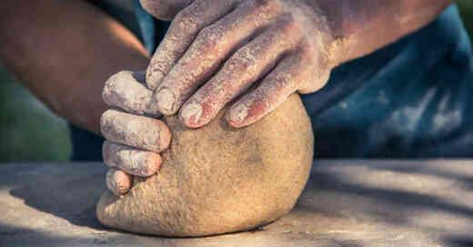 Brot, Teig, Backen, Kneten, Bäckerei, Bäcker, © Pixabay (Symbolbild)