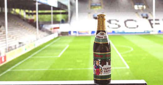 Freibier, SC Freiburg, Schwarzwaldstadion, Tannenzäpfle, Bier, Rothaus, © SC Freiburg