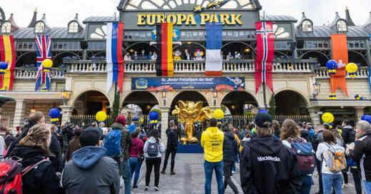 Europa-Park, Haupteingang, Wiedereröffnung, Freizeitpark, © Philipp von Ditfurth - dpa