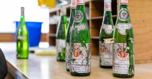 Weingut, Freiherr von Gleichenstein, Winzer, Vogtsburg, Kaiserstuhl, Weinflaschen, © Philipp von Ditfurth - dpa
