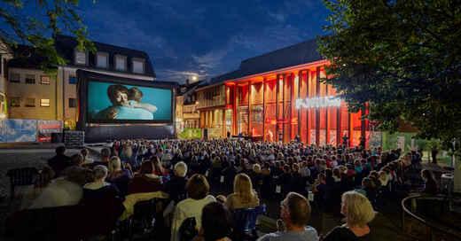 Open-Air-Kino, Lahr, Forum Kino, Lahr, Film, © Stadt Lahr (Archivbild)