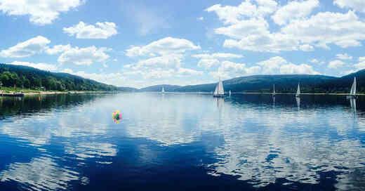 Segelboot, Schluchsee, Schwarzwald, Wasser, © Pixabay (Symbolbild)
