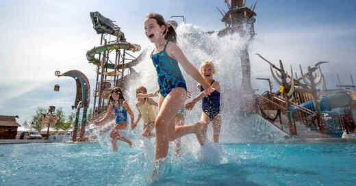 Svalgurok, Rulantica, Wasserpark, Outdoor-Wasserspielplatz, © Europa-Park