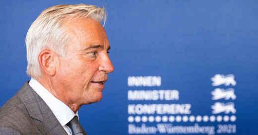 Innenminister, Innenministerkonferenz, Thomas Strobl, Baden-Württemberg, © Philipp von Ditfurth - dpa