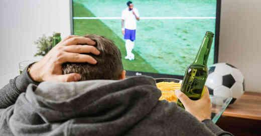 Fußball, Fernsehen, Europameisterschaft, EM 2021, © Pixabay (Symbolbild)