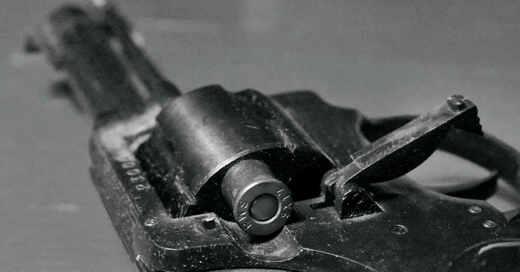 Revolver, Schusswaffe, Waffe, Handfeuerwaffe, Pistole, Überfall, © Pixabay (Symbolbild)