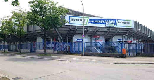 Echte-Helden-Arena, Franz-Siegel-Halle, EHC Freiburg, Wölfe, Eisstadion, Eishockey, Eishalle, © baden.fm (Archivbild)
