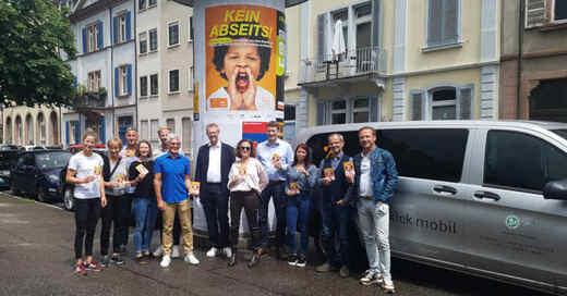 Step Stiftung, Fairways, Förderpreis, Gute Tat mit Radio und Plakat, 2021, Auszeichnung, © baden.fm