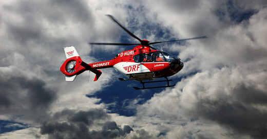 DRF Luftrettung, Rettungshubschrauber, Helikopter, Notarzt, © Pixabay (Symbolbild)