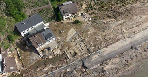 Flutkatastrophe, Hochwasser, Zerstörung, Rheinland-Pfalz, © Boris Rössler - dpa (Archivbild)