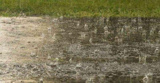 Wetter, Regen, Starkregen, Überflutung, Überschwemmung, Hochwasser, Pfütze, Niederschlag, © Pixabay (Symbolbild)