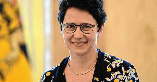 Marion Gentges, Justizministerin, Baden-Württemberg, © Bernd Weißbrod - dpa (Archivbild)