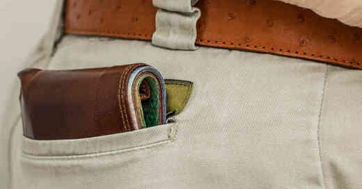 Geldbeutel, Geldbörse, Brieftasche, Bargeld, Taschendiebstahl, © Pixabay (Symbolbild)