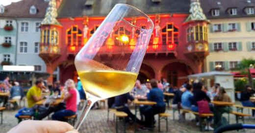 Weinsommer, Weinfest, Münsterplatz, Historisches Kaufhaus, Freiburg, Kultur, Veranstaltung, © baden.fm (Archiv)