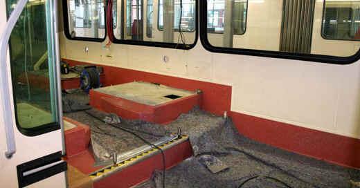 VAG, Freiburger Verkehrs AG, Straßenbahn, Sanierung, Tram, © Freiburger Verkehrs AG