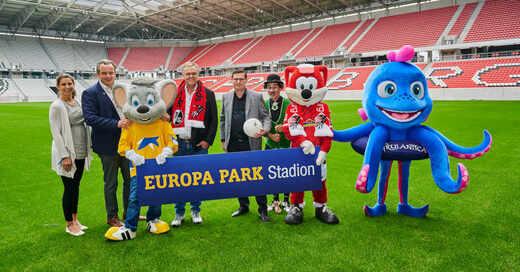 Europa-Park-Stadion, SC Freiburg, Bundesliga, Fußball, Stadion, Wolfswinkel, © Europa-Park (Archivbild)