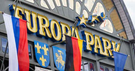 Europa-Park, Rust, Freizeitpark, Haupteingang, © Philipp von Ditfurth - dpa (Archivbild)