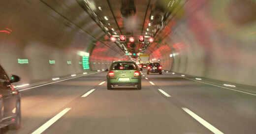 Tunnel. Verkehr, Autos, Stadttunnel, © Pixabay (Symbolbild)