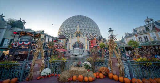 Halloween, Herbstsaison, Kürbisse, Französischer Themenbereich, © Europa-Park