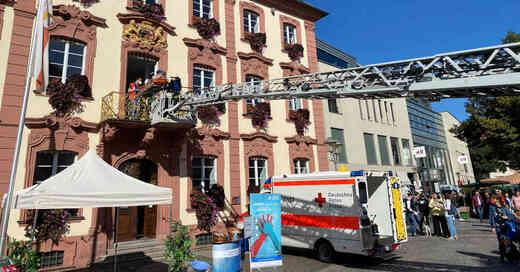 Simulation, Rettungseinsatz, Lebensretter, Offenburg, Wiederbelebung, Aktionstag, Ortenau Klinikum, © Ortenau Klinikum