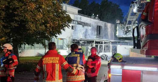 Feuerwehr, Wellness Pur, Saunahaus, Sauna, Brand, Einsatz, March, Buchheim, © baden.fm