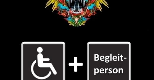 DIE TOTEN HOSEN - LAUNE DER NATOUR 2018 Rollstuhlfahrer + Begleitperson, © © Veranstalter