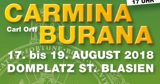 Domfestspiele St. Blasien - Carmina Burana, © © Veranstalter