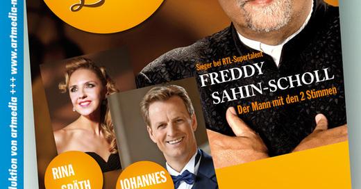 Stimmenzauber mit Freddy Sahin-Scholl & Johannes Kalpers, © © Veranstalter