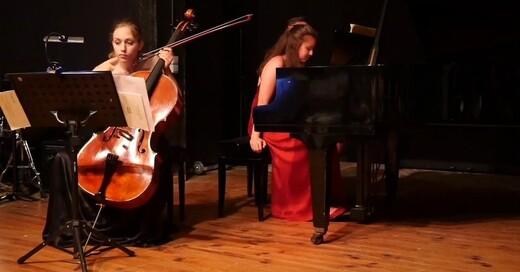 Duo-Abend - Marie Viard, Violoncello & Liliia Khusnullina, Klavier, © © Veranstalter