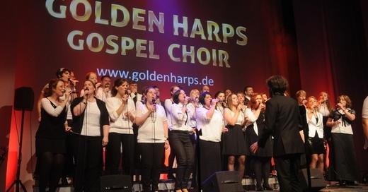 Benefiz-Konzert mit GOLDEN HARPS Gospel Choir - Anlässlich der Einweihung der Friedenskirche, zugunsten der Renovierung, © © Veranstalter