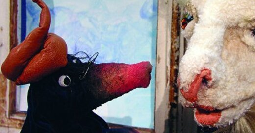 marotte Figurentheater - Vom kleinen Maulwurf, der wissen wollte, wer ihm auf den Kopf gemacht hat, © © Veranstalter