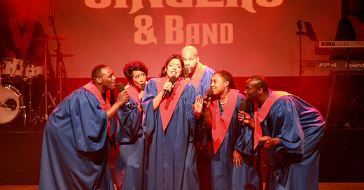 The Original USA Gospel Singers & Band - BÜHNE 79211, © © Veranstalter
