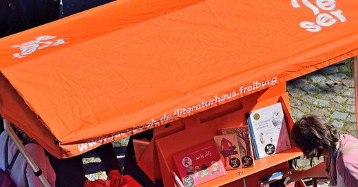 Molière nach PeterLicht - Urban Reading mit dem Freileser-Fahrrad, © © Veranstalter